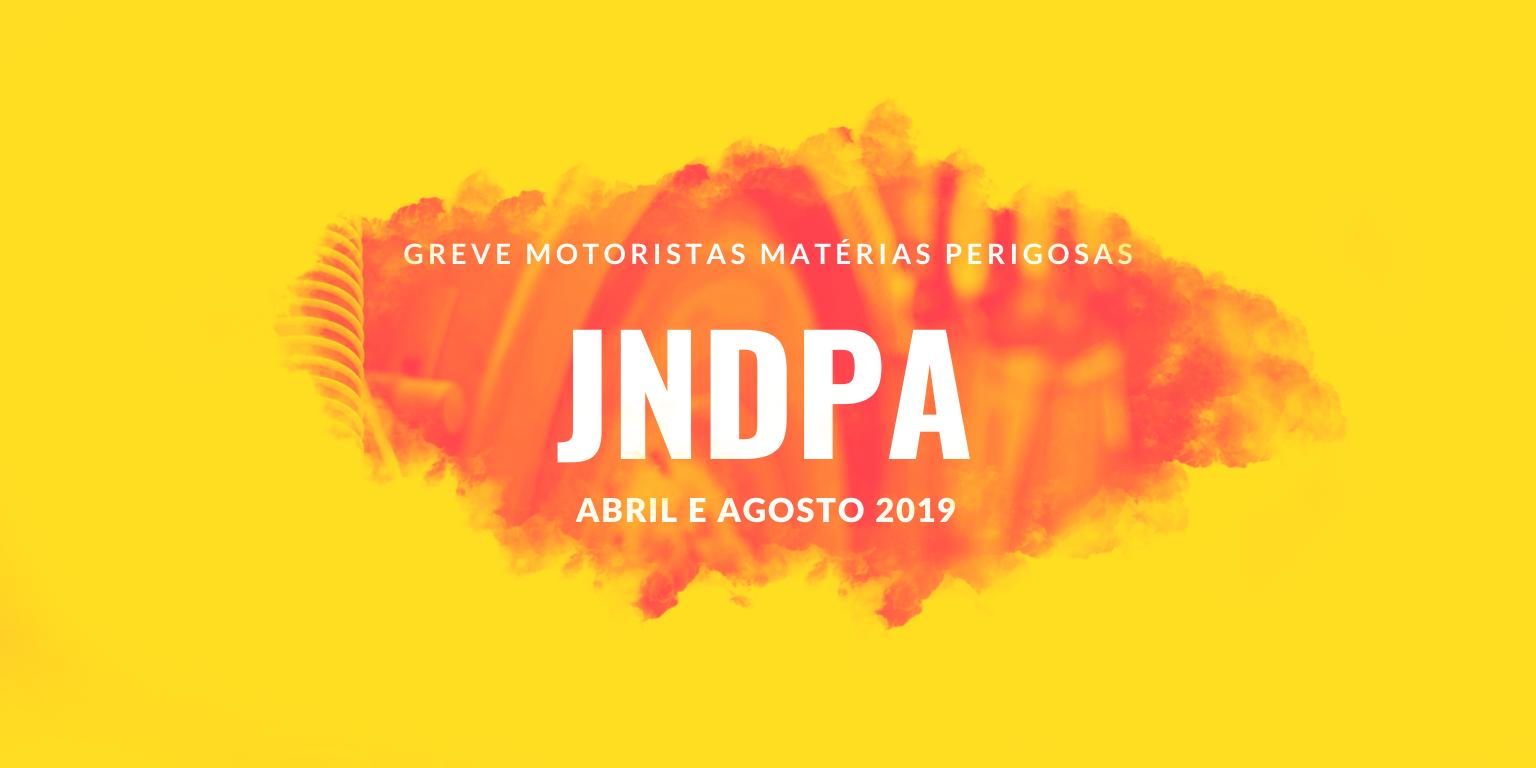 CONHECE O TRABALHO DA VOST PORTUGAL DURANTE AS GREVES DOS MOTORISTAS DE MATÉRIAS PERIGOSAS